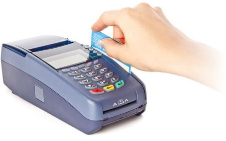 Credit Card Processing Machine
