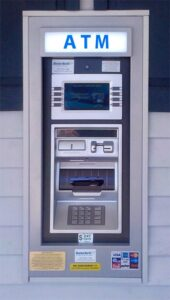 Wall-Mount ATM, installed by Boston North Company